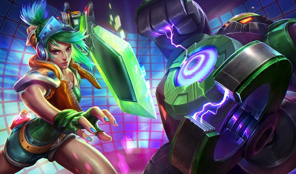 League-of-Legends-Arcade-Riven-Battle-Boss-Blitzcrank-splash-screen