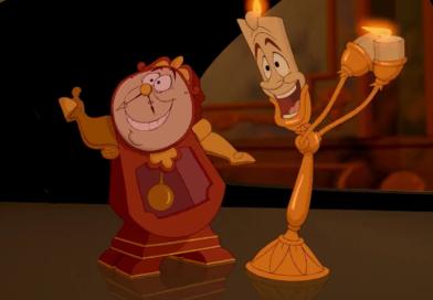Primera Imagen De 'Lumiere y Cogsworth'
